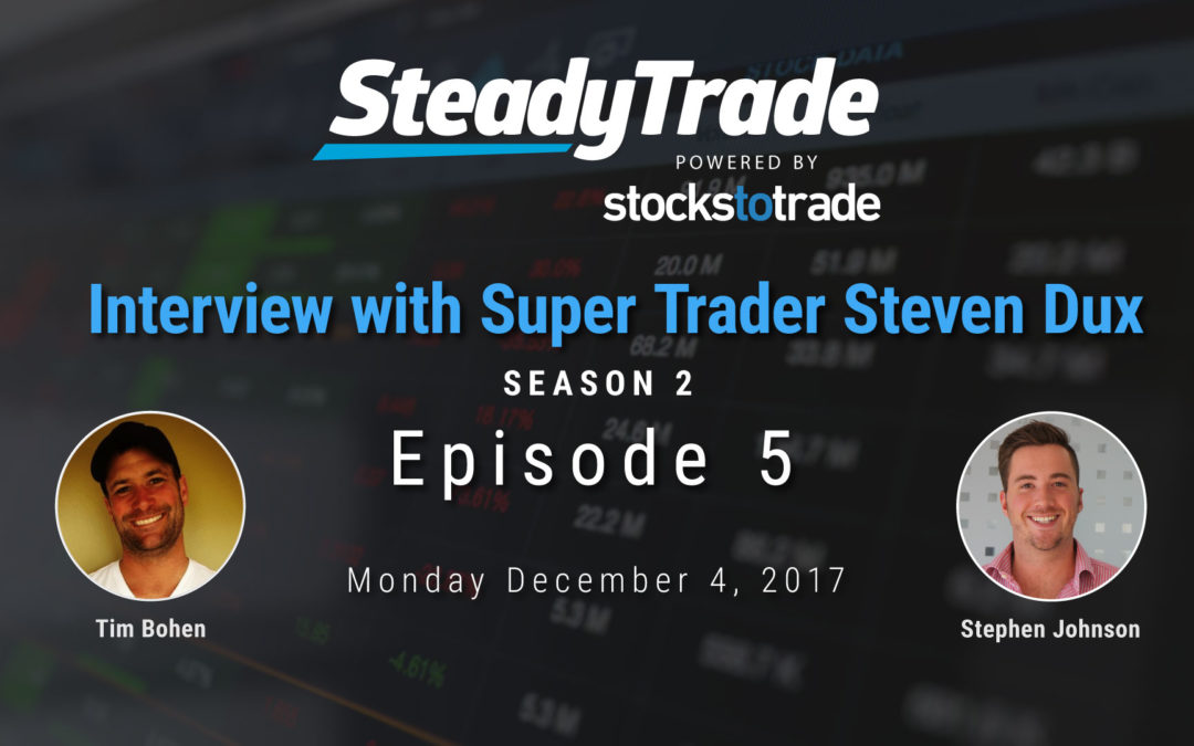 Steady Trade Season 2 Episode 5: Super Trader Steven Dux