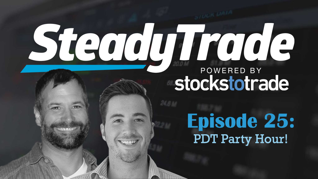 Ep 25: PDT Party Hour!  (aka Stephen Johnson's Survival Guide to Overcoming the Pattern Day Trader rule)