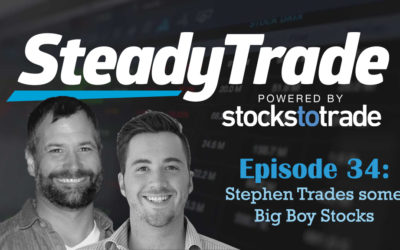 Ep 34 – Stephen Trades some Big Boy Stocks