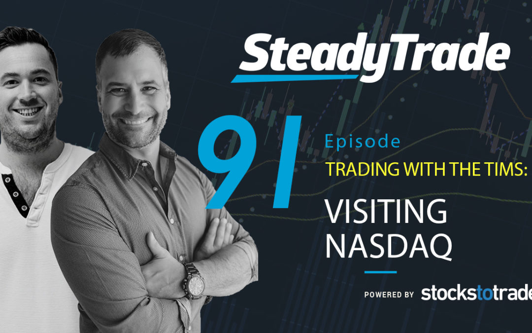 Trading with the Tims: Visiting NASDAQ