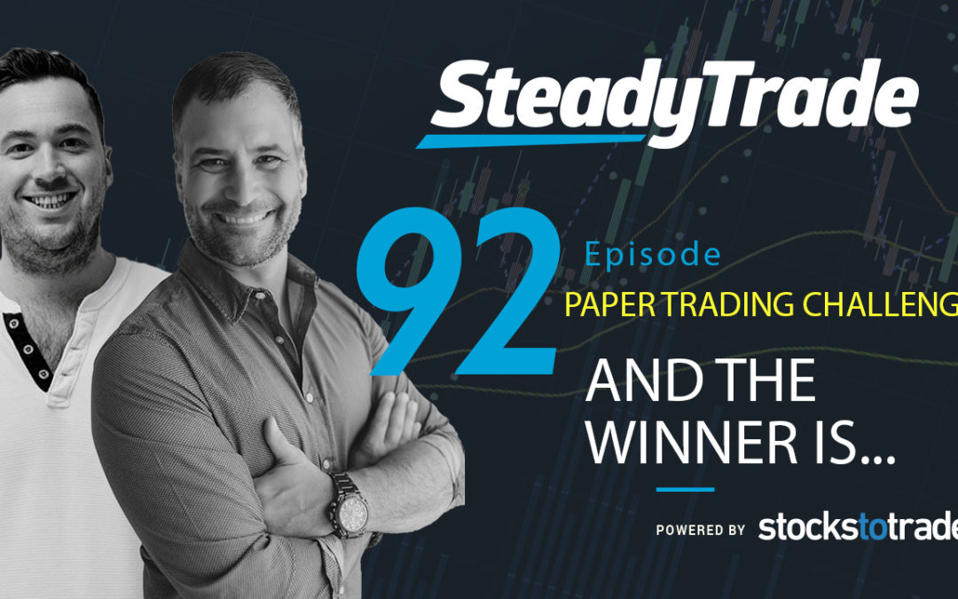 And The of the Winner of the Paper Trading Challenge Is …