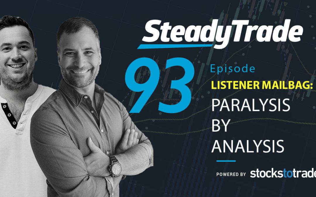 Listener Mailbag: Paralysis by Analysis