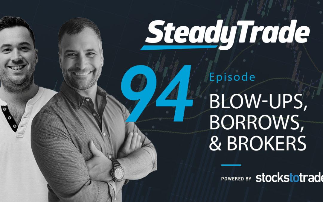 Blow-ups, Borrows and Brokers
