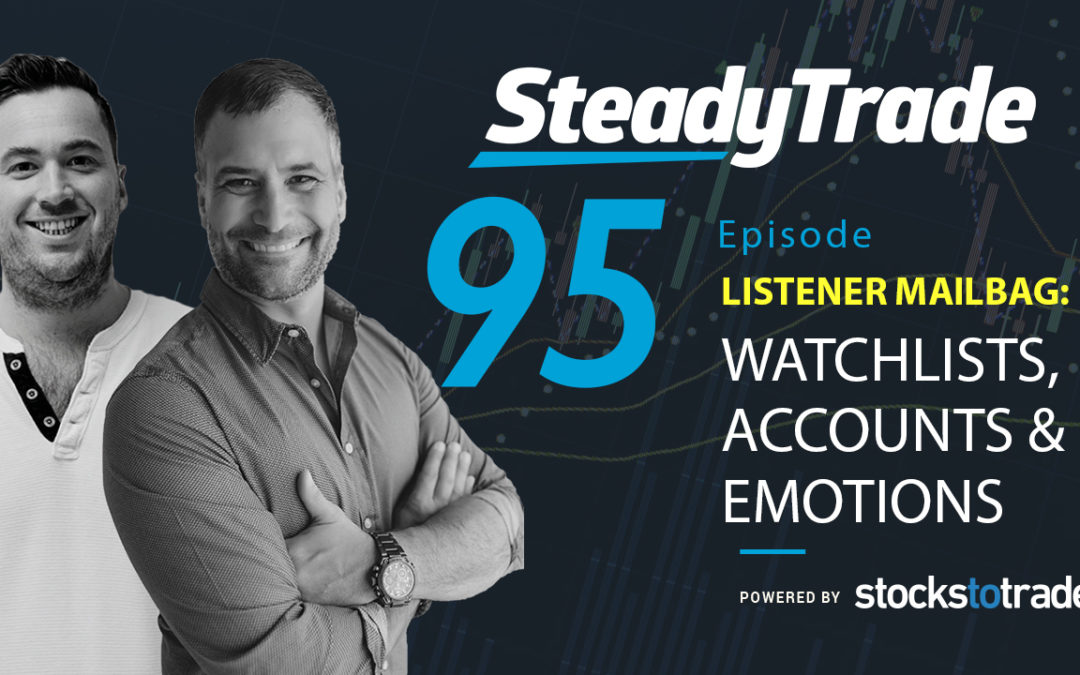 Watchlists, Accounts, & Emotions As you're probably already well aware, hosts Tim Bohen and Stephen Johnson are a veritable treasure trove of trading-related information