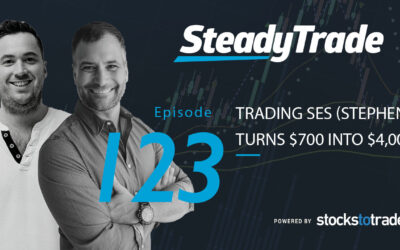 Trading SES (Stephen turns $700 into $4,000)