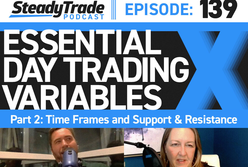 Ep 139: Essential Day Trading Variables Part 2: Time Frames and Support & Resistance