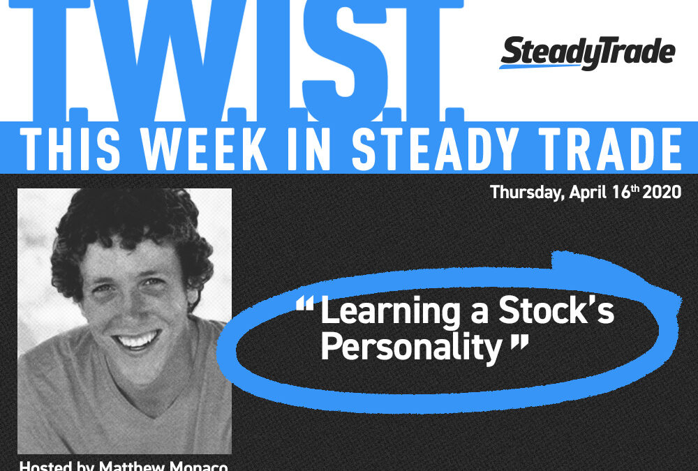 TWIST: Learning a Stock's Personality — April 16, 2020