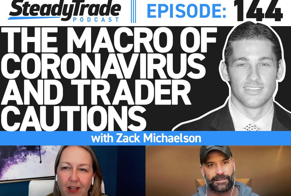 Ep 144: The Macro of Coronavirus & Trader Cautions with Zack Michaelson