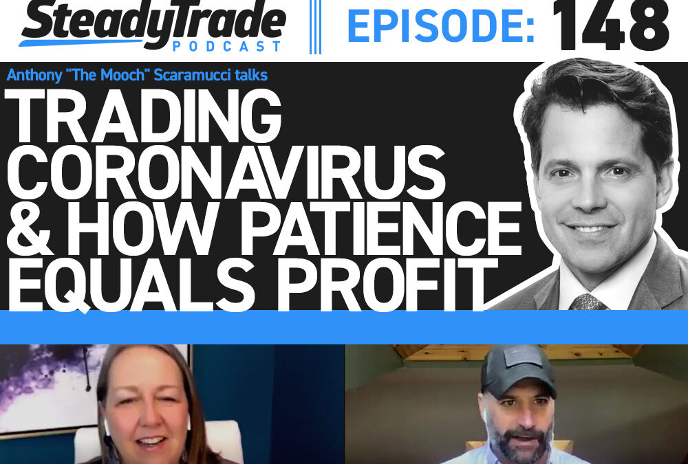 "Ep 148: Anthony ""The Mooch"" Scaramucci Talks Trading, Coronavirus, & How Patience Equals Profit"
