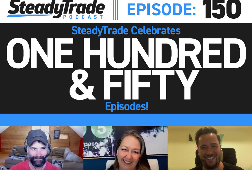 Ep 150: SteadyTrade Celebrates 150 Episodes!