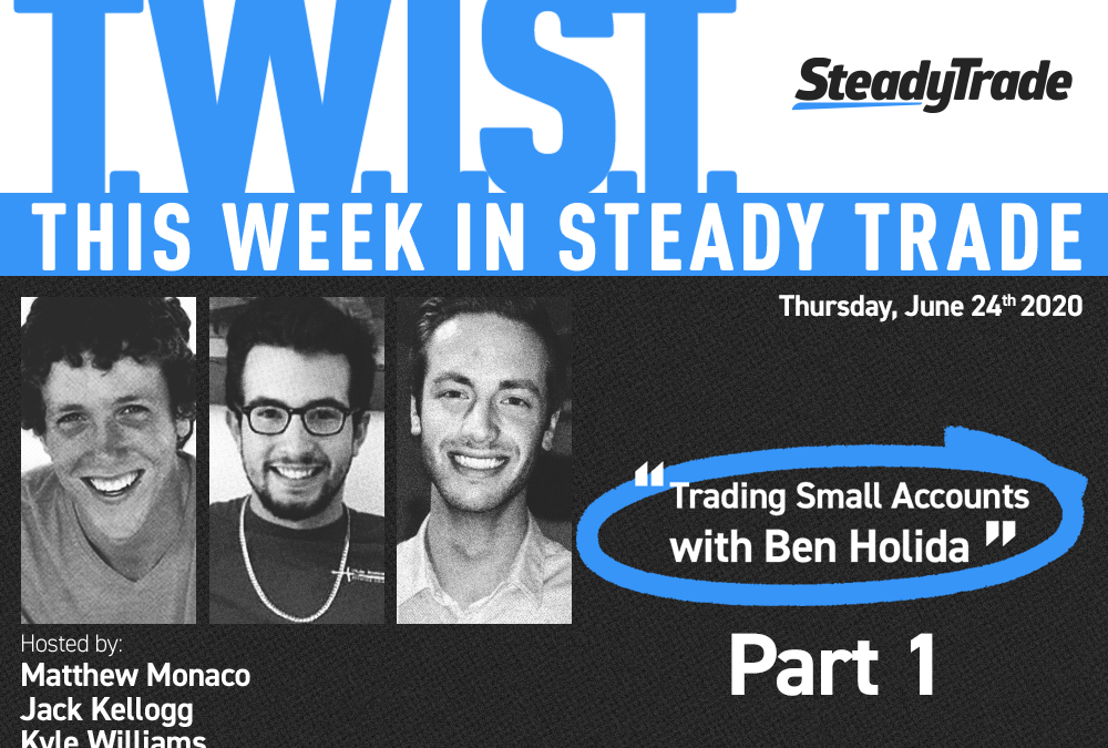 TWIST: Trading Small Accounts With Ben Holida — Part 1 — June 25, 2020