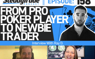 Ep 158: From Pro Poker Player to Newbie Trader: Interview With Ray D.
