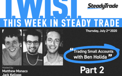 TWIST: Trading Small Accounts With Ben Holida — Part 2