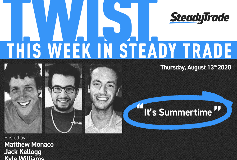 TWIST: It's Summertime Trading with $IGC & More