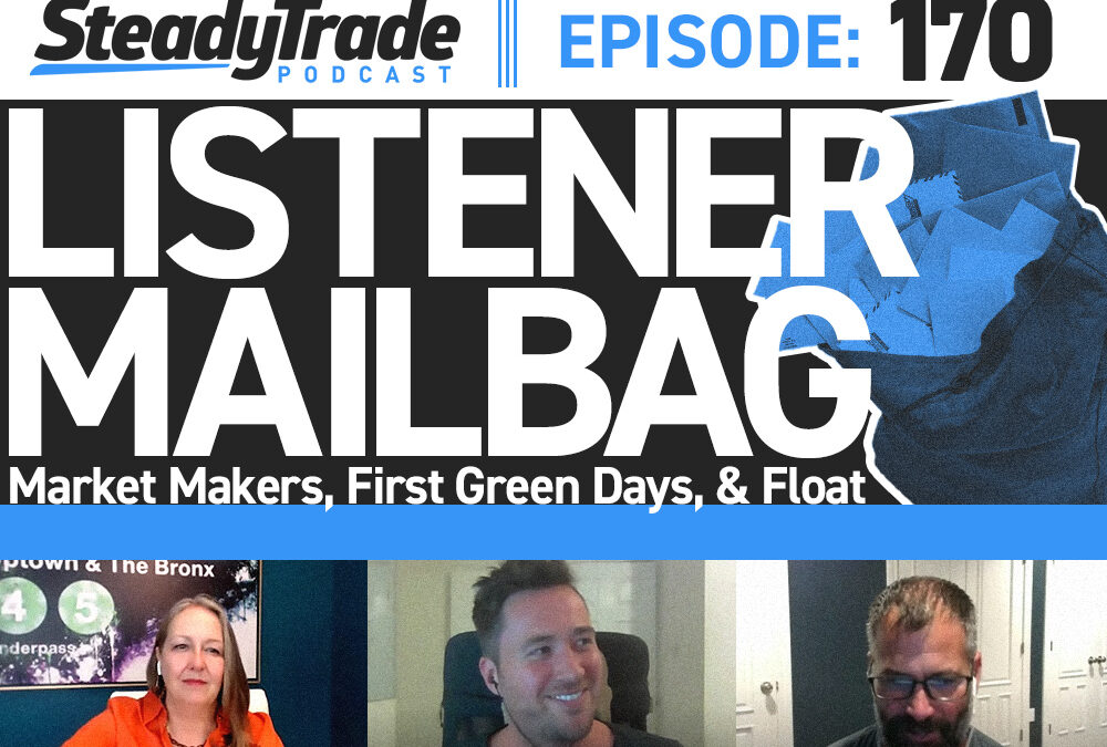 Ep. 170: Listener Mailbag: Market Makers, First Green Days, and Float