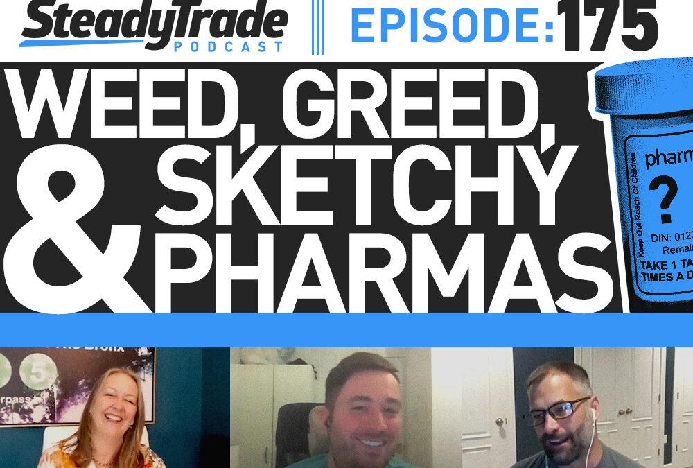 Ep 175: Weed, Greed, and Sketchy Pharmas
