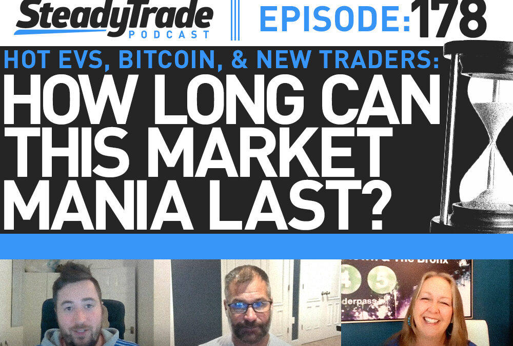 Ep 178: Hot EVs, Bitcoin, and New Traders: How Long Can This Market Mania Last?