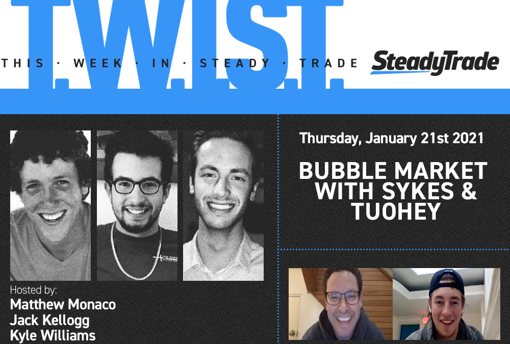 TWIST: Bubble Market With Sykes & Tuohey