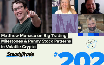 Episode 202: Matthew Monaco on Big Trading Milestones & Penny Stock Patterns in Volatile Crypto