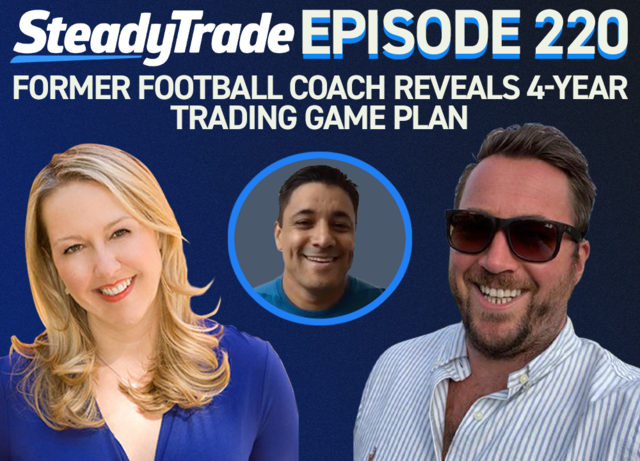Ep 220: Former Football Coach Reveals 4-Year Trading Game Plan